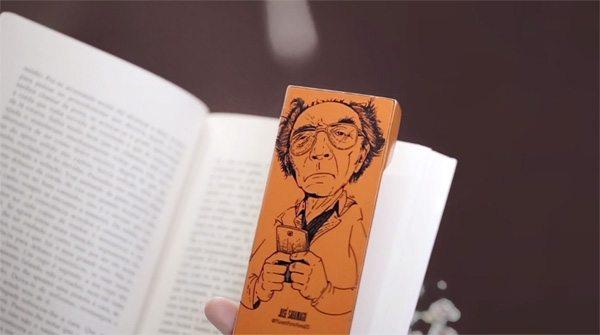 marcador de livro