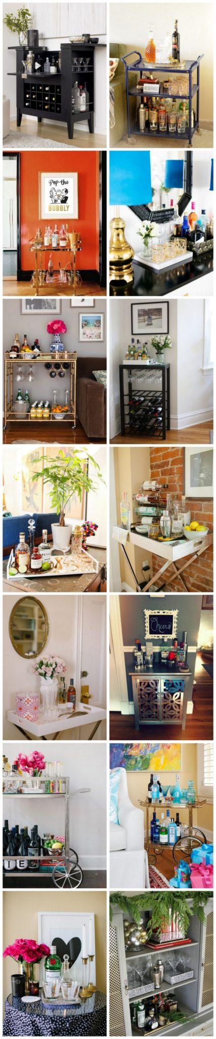 decor um canto um mini bar. Black Bedroom Furniture Sets. Home Design Ideas