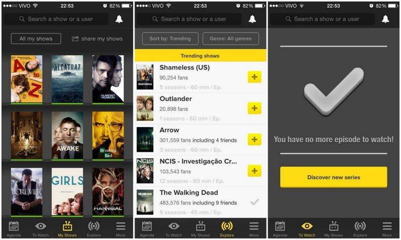 TVShow Time o melhor app para acompanhar séries de TV 1