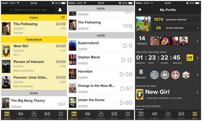 TVShow Time o melhor app para acompanhar séries de TV 2