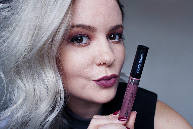 Batom líquido matte Camila Ribeiro Super Makeup (3)