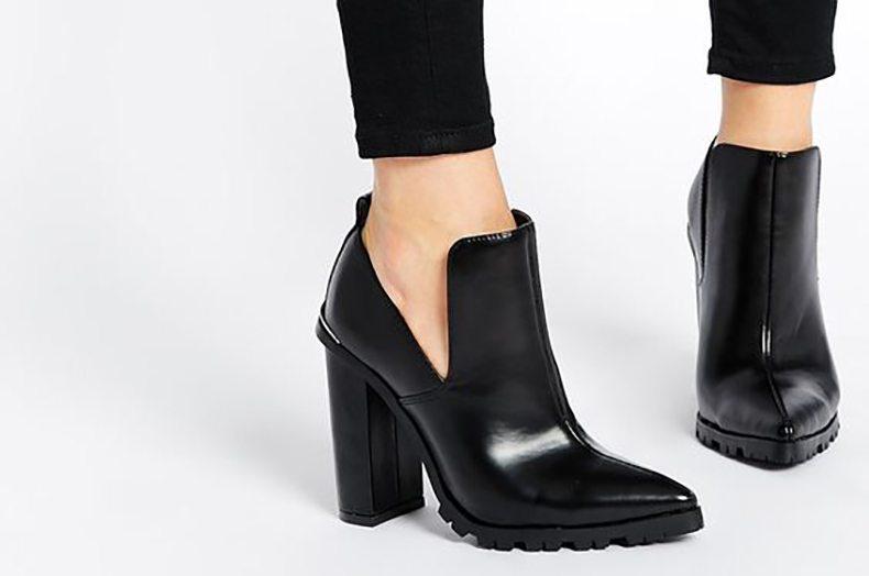 Onde comprar cut out boots slit boots