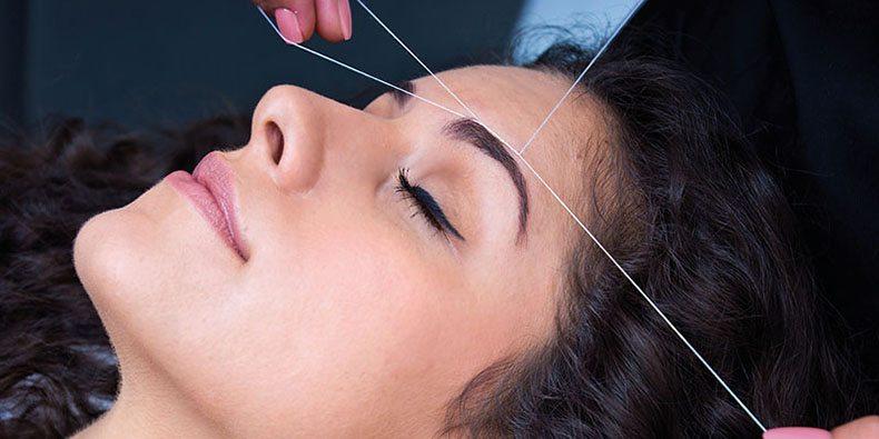 Os benefícios da depilação com linha
