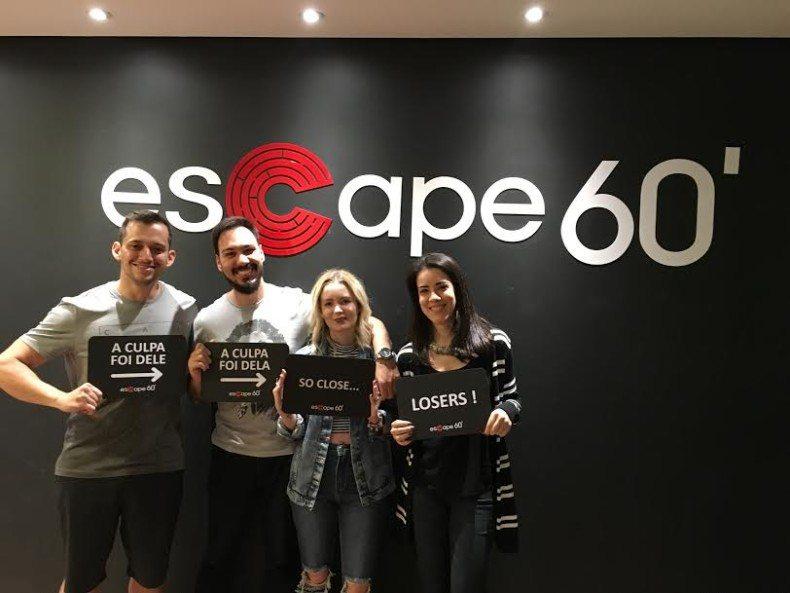 Minha experiência no Escape 60 em Belo Horizonte
