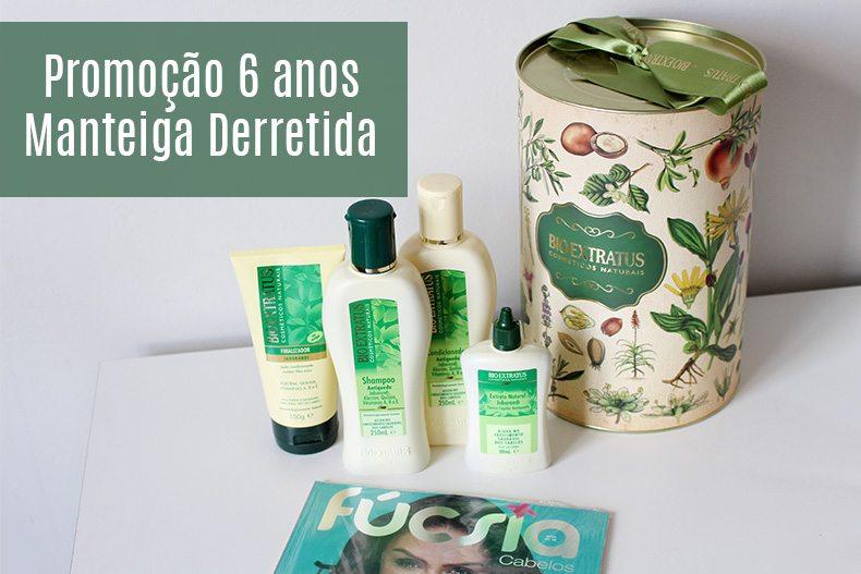 Promoção 6 anos Manteiga Derretida – Kit Bio Extratus