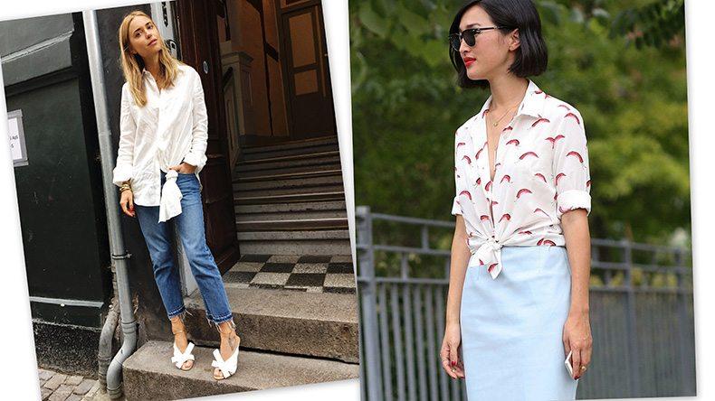5 maneiras diferentes de usar camisa